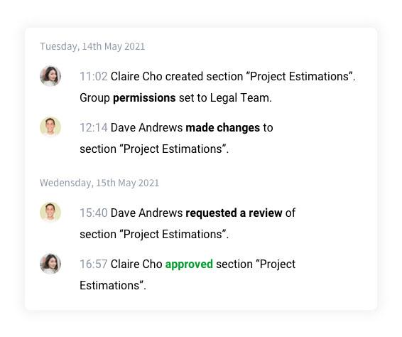 Screen shot of Bidhive proposal analyser