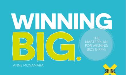 Winning Big. The Masterplan for Winning Bids and RFPs.