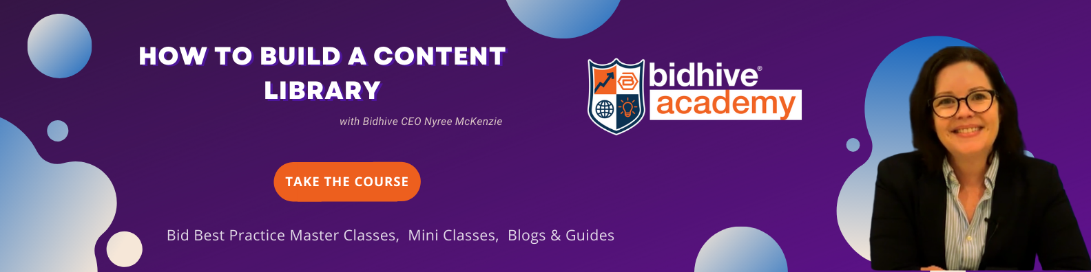 How to build a bid content library